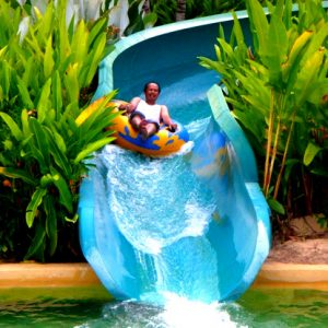 Slide @ The Carnivall Waterpark Sungai Petani