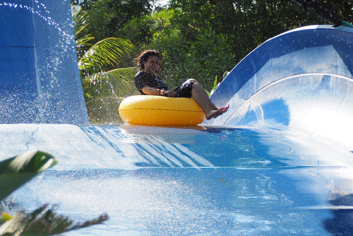 Crazy Slide @ The Carnivall Waterpark Sungai Petani