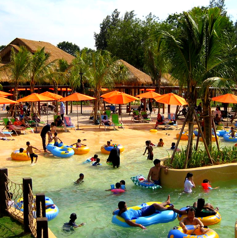 Beach @ The Carnivall Waterpark Sungai Petani