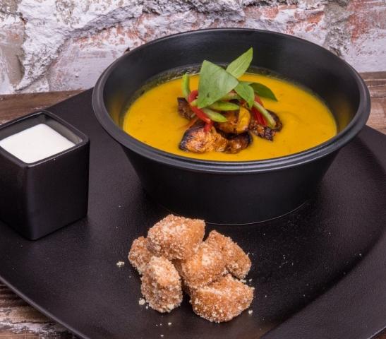 Pumpkin & Coconut Soup