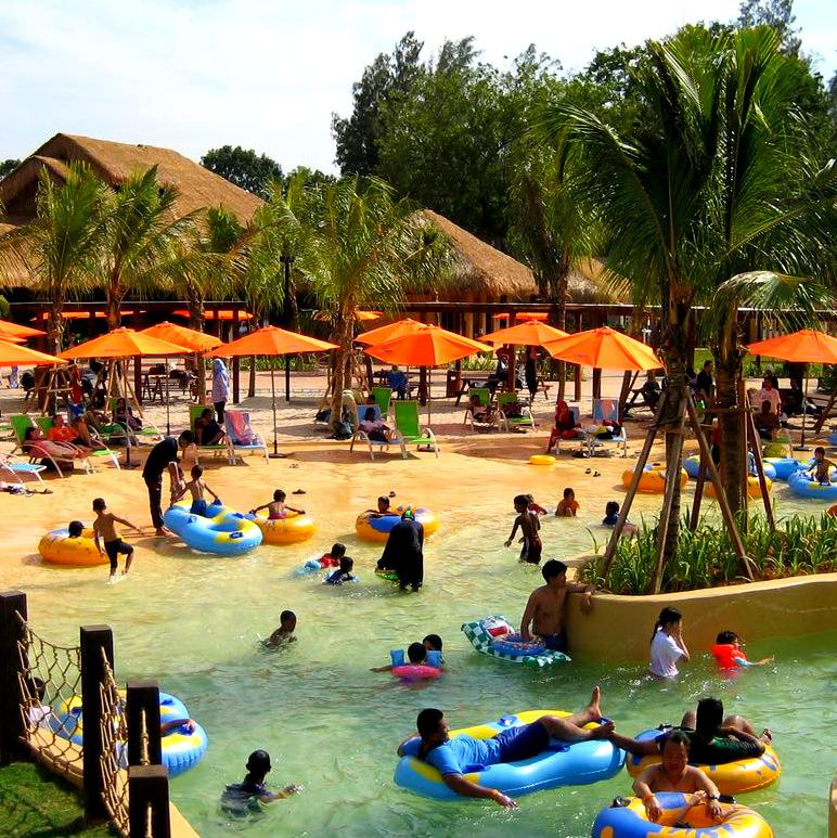 Beach @ The Carnivall Waterpark Sungai Petani