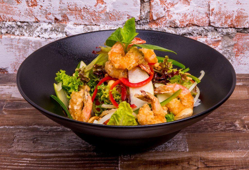 Crispy Prawn Salad