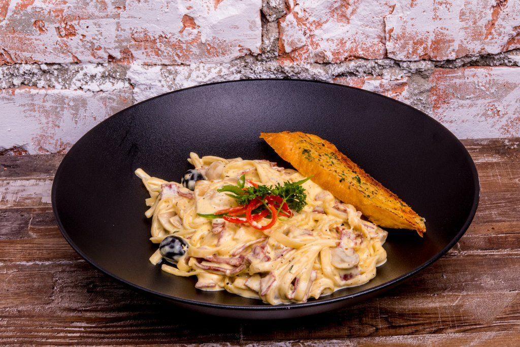 Fettuccini Carbonara